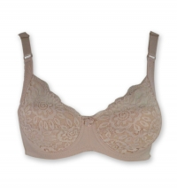 underwired padded bra F cup
