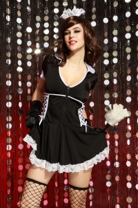 French maid sexy outfit