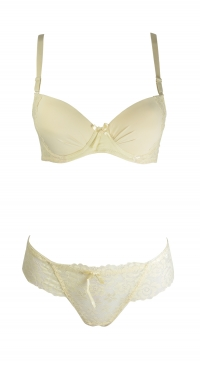 B cup bra set - with thong