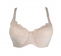 E cup bra with thin foam