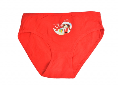 Red Christmas underwear for kids