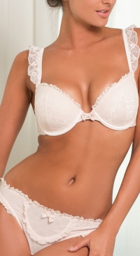 BCDE cup bra 2pcs (short) set