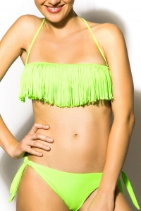 2-piece Fringed Swimsuit