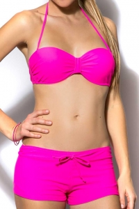 Bikini  - Underwired push-up bandeau top