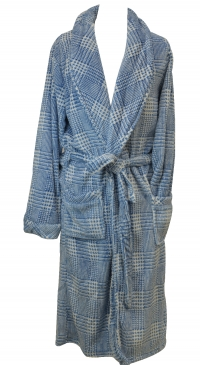 fleece bathrobe for men