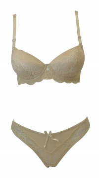 g-string B cup bra set