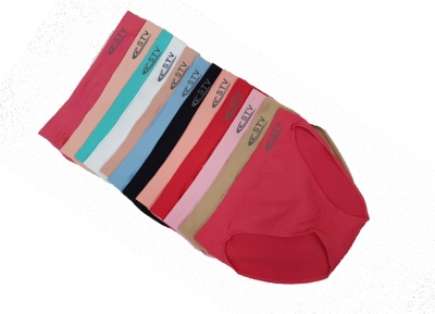 mixed colors panties - L size