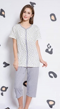 pajama short sleeves with pant 7/10
