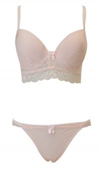 BC cup bra set with panties