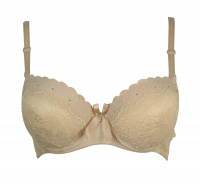 B cup bra with strass
