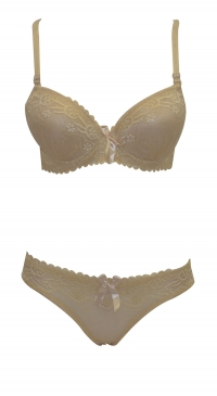 B cup bra set with panty