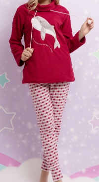 Fleece women pyjama