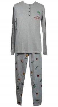 long sleeve fleece nightwear
