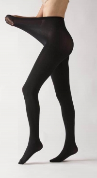 Very stretchy 280D black tights