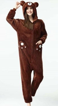 Women's winter pilou pajamas