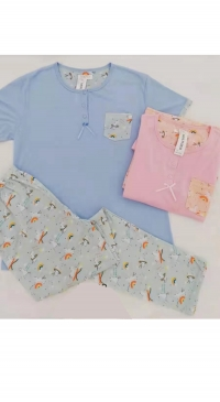 sleeveless pyjama set